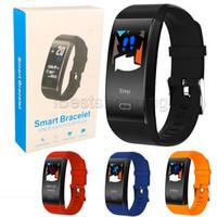 ingrosso iphone dei gps dei giocatori dei capretti-TF6 Smart watch Colore schermo Bracciali Fitness Tracker Step Counter Activity Monitor Band Alarm Clock Vibrazione Wristband per iPhone Android