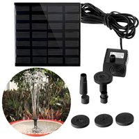 Wholesale brushless pond pumps resale online - Solar Power Panel Water Pump Garden Brushless Pond Fountain Pool Water Pump