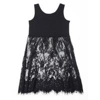 Wholesale sleeve extender - Ladies Extender Camisole Long Tank Slip Top Dress Trim Layer Vest Lace Dress