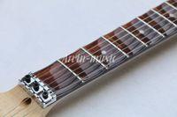 guitarra yngwie al por mayor-¡¡¡Nuevo!!! Diapasón festoneado de metal rojo, guitarra Yngwie Malmsteen, guitarra eléctrica Big Head