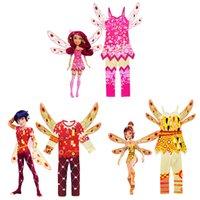 mo kleider großhandel-CartoonMia und Yuko .Prince Mo und Mia Cosplay Kostüme für Kinder geben Kinder Party Kleid Halloween-Kostüme