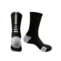fútbol rápido al por mayor-Calcetines de fútbol de secado rápido para adultos transpirables Calcetines de baloncesto de fútbol de poliéster Hombres Calcetines antideslizantes de alta calidad