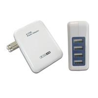 зарядное устройство универсального устройства оптовых-Универсальный 4 порта USB зарядное устройство путешествия зарядное устройство адаптер для iPhone7 Samsung S8 смартфонов/ПК / Mp3 USB мобильных устройств
