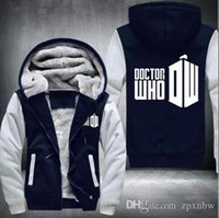 Wholesale Usa D - New autumn and winter women and men sweatshirt hoodie personality dalek doctor who hoodie USA Size fast ship 5-10 days arrive -D