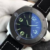 Wholesale military diving watches - Military Luxury Brand Firenze Pam Men's Watch Stainless Steel Acciaio Retro Pam604 Leather Watches 50m waterproof Diving watch 604