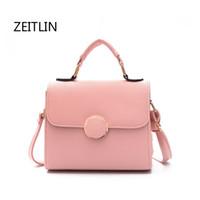 Wholesale cheap handbags for ladies - ZEITLIN Crossbody Bags For Women 2018 Shoulder Bag PU Leather Handbags Cheap Women Bags For Summer Ladies Messenger T1314