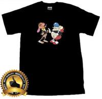 5341b4ab981b Ren & Stimpy Custom GILDAN T Shirt Basic Tee Black Size S M L XL 2XL Men  Short Sleeves T Shirt top tee