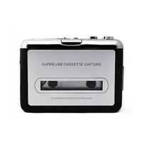 Wholesale cassette capture - New USB Cassette Tape Converter Converter Music Player Audio Capture Platform for PC MP3