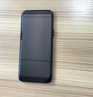 goophone barco al por mayor-Goophone 9+ 9 más Pantalla Curvada de 6,2 pulgadas Quad Core Android 6.2 Show Fake 4 GB de RAM 128 GB ROM Fake 4G lte Cell Phone Envío gratis