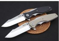 katlanır bıçaklar zt toptan satış-ZT Klasör Sıfır Tolerans 0562 0606 0393 ZT0393 9Cr18MoV rulman Yüksek Kalite ZT kamp avcılık Katlanır Bıçak 1 adet ücretsiz kargo