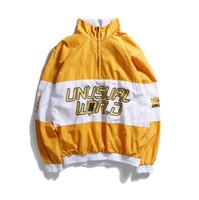 Wholesale Designer Jackets For Women - Designer Hoodie Spring Hip-hop Jacket Loose Letter Print For Men And Women windbreaker