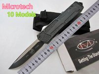 Wholesale Special Offer Styles Microtech Troodon Scarab S E Best Automatic Knife Marfione Custom Troodon knives Halo v A07 Gift Knife MT Knives