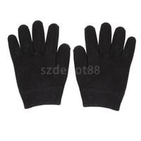 Guanto idratante in gel di cotone per lisciare la mano idratare la pelle  nera e134492927c7