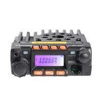 Wholesale radio vhf uhf car for sale - Zastone MP300 Car Walkie Talkie Dual Band VHF UHF MHz MHz W W Radio Station With Car Antenna and Mounting Clip