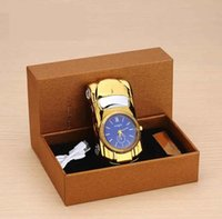 Wholesale rechargeable usb watch lighter for sale - Group buy Electric Lighter windproof USB Cigarette lighters rechargeable metal watch sports car novetly lighter Smoking Tool color Christmas Gift