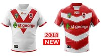 Wholesale george shirts - 2018 ST GEORGE ILLAWARRA DRAGONS HOME away rugby Jerseys NRL National Rugby League nrl Jersey shirt s-3xl
