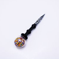 Wholesale tool rigs for sale - 4 inch Wax Dabber Tool Carb Cap and Wax oil rigs Dab Stick Carving tool for E Nails Dab Nail and Quartz Nails