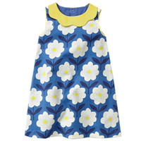 Wholesale European Baby Clothes - Kids Dress Jersey Baby Girl Dress 2018 Hot Sale Summer 100% Cotton Dresses for Kids Clothing Baby Girl Clothes