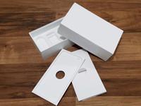 мобильные телефоны оптовых-Новые пустые розничные коробки для iphone 5 5S SE 5c 6 6 S 7 8 plus X мобильный телефон box для samsung Galaxy S4 S5 S6 S7 Edge S8 Plus