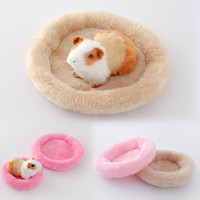 Wholesale novelty beds - Hamster House Keep Warm Soft Pet Sleeping Bed Cushion Multi Color Rabbit Nest Small Animal Supplies 4 2lf2 C R