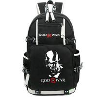 Wholesale Pack Women Game - God of War backpack Kratos day pack Norse Mythology design school bag Game style rucksack Sport schoolbag Outdoor daypack