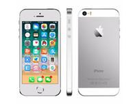 iphone 64gb kilidi toptan satış-Orijinal 4.0 inç iphone 5 s ios 11 apple iphone5s a7 64g parmak izi ile dokunmatik id unlocked yenilenmiş cep telefonları dhl