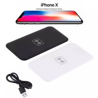 Wholesale Galaxy Note Power Bank - Qi Standard Universal Wireless Charger Pad Power Bank Portable Transmitter Accessary For Samsung Galaxy S6 S7 S8 S9 Iphone X 8 Note 8