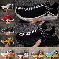 Wholesale Pale Blue - Pharrell x Original HU NMD Trail HUMAN RACE NERD black Colette moon noble ink pale nude men womens running Shoes sports shoes sneaker