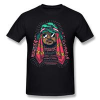 camisas de cuello personalizado al por mayor-New Coming Homme 100% tela de algodón Schoolboy Q camisetas Homme Round Collar camiseta de manga corta de carbono Big Size Custom Tee Shirts