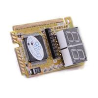 mini cartão postal venda por atacado-Freeshipping 10 pcs Cartão de Diagnóstico USB Mini PCI-E PCI LPC Analisador PC PC