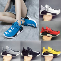 erkek moda ayakkabıları indirim toptan satış-Adidas Human Race 1.0 NMD x PW 2018 Ucuz Toptan NMD Eur 36-47