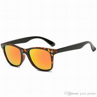 Wholesale Round Cateye Sunglasses - Fashion Cool Sunglasses Cateye Men Women Brands 52mm Sun Glasses Brand Designer Mirror Gafas de sol Ladies Eyewear with cases outlet Sale