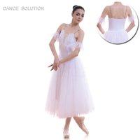 e1ebc25da8d 5 capas de tul suave ballet romántico Tutu Long Ballet trajes de baile  blanco / rosa / azul claro tutú trajes de rendimiento de la etapa