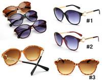 ingrosso promozione sulla spiaggia-Le donne di vetro di vendita di HOt delle signore progettano la promozione del progettista La qualità 6006 di stile della spiaggia di stile della spiaggia di stile di modo 3 colori MOQ = 10pcs