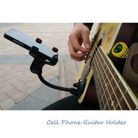 Wholesale black cup suckers for sale - Group buy Phone Holder Stand for Guitar Street Singing lyrics Song Car Holder Sucker Suction Cups Musicians Guitar Stand Car Holder Mobile