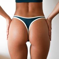 butts s thong großhandel-Wimming Slips V Form Sexy Bademode Frauen 2018 Brasilianische Bikini Bottoms Scrunch Hintern Tanga Tanga Höschen Unterwäsche