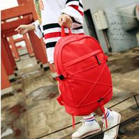 moda sırt çantaları toptan satış-Sıcak patlamalarını backapck marka omuz çantaları yenilikçi moda çanta gündelik öğrenci çanta çanta seyahat sırt çantası ücretsiz gönderim