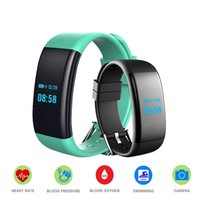 Wholesale Blood Pressure Pulse Oximeter - Smart Wristband Blood Pressure Bracelet Oximeter Band Bluetooth Fitness Tracker DF30 Heart Rate Waterproof For iOS Android Men Women