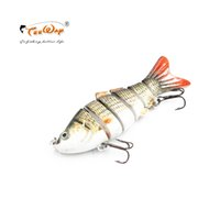 Wholesale segment swimbait crankbait hard bait for sale - Lifelike Fishing Lure Segment Swimbait Crankbait Hard Bait Slow Fishing Wobblers cm g