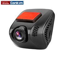 Wholesale Q8 Cars - Conkim Car Video Recorder Mini Q8 1296P 1080P Full HD Dash Cam Camera GPS Auto Registrator Super Capacitor Car DVR ADAS LDWS