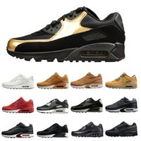 Wholesale classic essentials - 90 BW Essential Classic Running Shoes Sport Sneakers Mens Outdoor Trainers Fashion Designer Casual Jogging Trails with Box