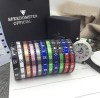relógios de pulso venda por atacado-Marca de luxo Relógio Estilo Cuff Bangle de Aço Inoxidável de Alta Qualidade dos homens Jóias de Luxo Moda Pulseira preta para As Mulheres Homens com caixa