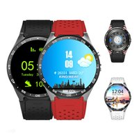 Wholesale Used Kids Quad - KW88 3G Smart watch Android 5.1 IOS watchs Quad Core support 2.0MP Camera Bluetooth smartwatch SIM Card WiFi GPS Heart Rate Monitor