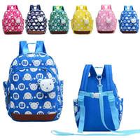 kayıp çocuğum çantası toptan satış-6 renkler Çocuk Schoolbag Yeni Bebek Yürüyüş Bebek Yürüyor çocuk Sırt Çantası Askı Çantası Anti Kayıp Çocuk Tasması Tasmalar