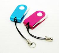 Wholesale steel flash drive - Hot 90pcs For 64GB 128GB Stainless steel mini Fine USB Flash Drive(U Disk) SYITR disk memory stick Pendrives thumbdrives shop