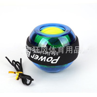 Fitness Equipments Beautiful Wrist Muscle Trainer Relax Force Power Exercise Strengthen Led Ball Sport Tool And To Have A Long Life.