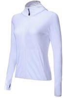 sıkıştırma giymek kadınlar toptan satış-En iyi kalite Toptan fiyat Spor Yoga Koşu Ceketler Kadın Spor Giyim Spor Kapüşonlu Uzun Kollu Kapşonlu Coat Sıkıştırma Eğitim Giyim