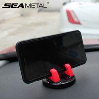 auto armaturenbrett kleber großhandel-Auto-Handy-Halter Dashboard GPS-Navigation Universal für zu Hause in Auto-Office-Klebeband Aufkleber auf Schreibtisch Gläser Gel Halter