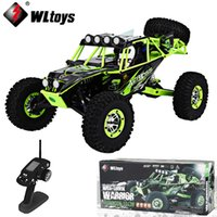 Wholesale rock tracks - JJRC Wltoys 10428 2.4G 1:10 Scale 1:10 4WD RC rock-climber Remote Control Electric Wild Track Warrior Car Vehicle VS 12428