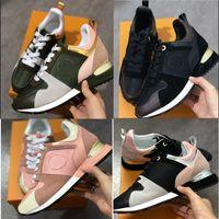 роскошные кроссовки оптовых-Убежать дизайнер кроссовки женщина мужчина Бегун обувь из натуральной кожи сетки спортивная обувь люксовый бренд размер US5-12